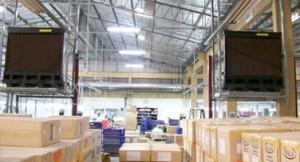 climatizadores evaporativos en fabricas